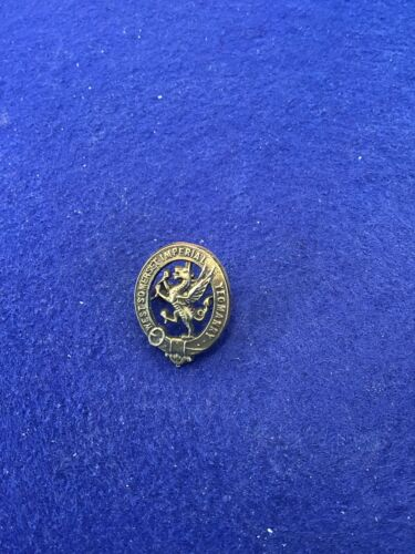 West Somerset Imperial Yeomanry Brass Cap Badge1939 - 1945 (WWII) - 13977