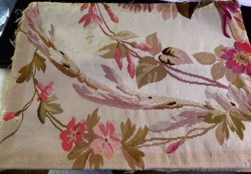 Antique Aubusson Tapestry Piece  WW678