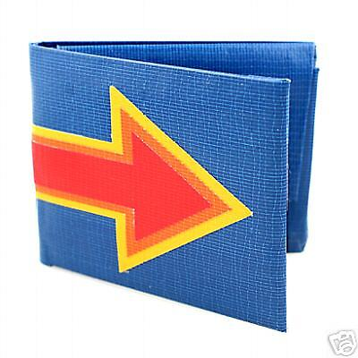 Monedero - Shalgo Aero 9000 Wallet - Azul - Retro - NEW