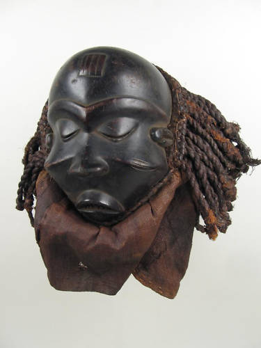 GothamGallery Fine African Art - DRC Pende Mask P