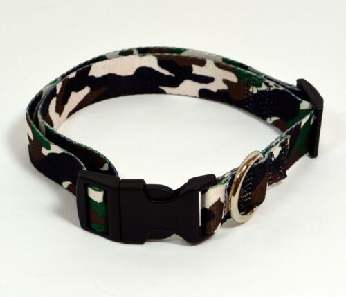 Brand New Adjustable Camouflage Dog Pet Collar