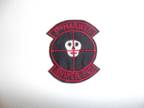 b0699 US Army Sniper School  patch War on Terror IR18AReproductions - 156452