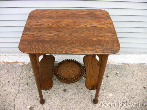 Oak Parlor Table Antiques Us
