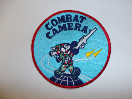 c0309 US Air Force Iraq Afghanistan War Combat camera patch R10EReproductions - 156452