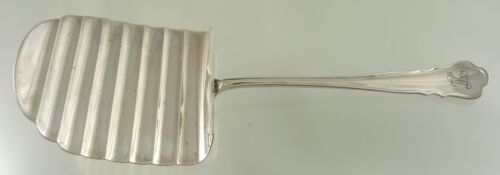 CHIPPENDALE LARGE ASPARAGUS SERVER 800 SOLID SILVER BY MH WILKENS GERMANY