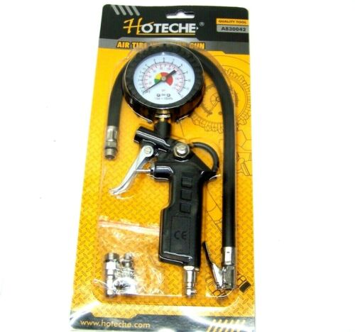 Dial Air Tire Inflator With Gauge Auto Truck Bike Compressor Pistol Type TG-3