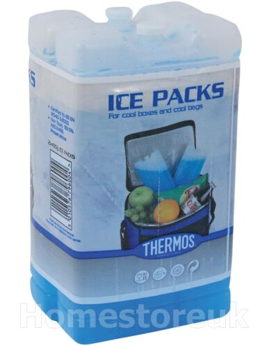 2 thermos Freeze Board Ice Pack 200 g bloc pour Cool Sac Chill Box Cooler Voyage