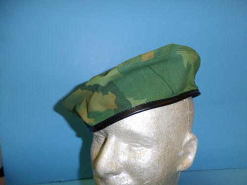 b2605-60  Vietnam era USMC Force Recon Mitchell Pattern Beret Size 60 PBTReproductions - 156445