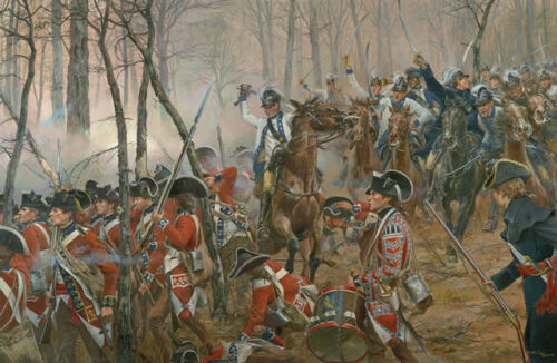 """""""Battle of Guilford Courthouse"""" Don Troiani Revolutionary War Artist Proof Print"""