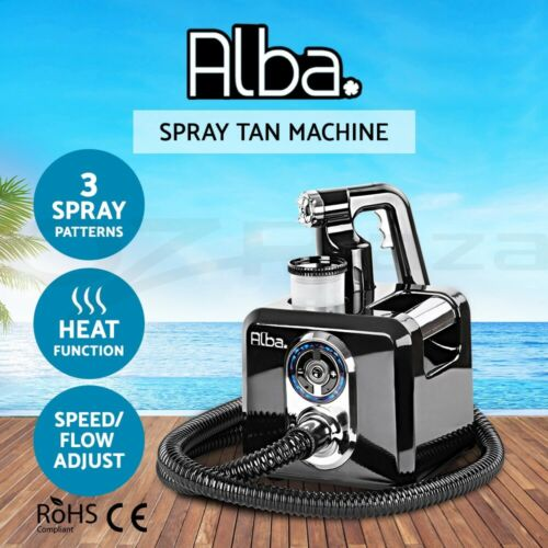 Alba. Spray Tan Machine Spray Gun HVLP System Sunless Tanning Black <br/> Top quality✔Discounted price✔Home tanning solution