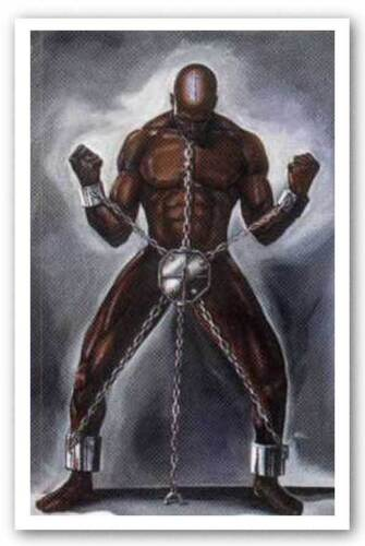 AFRICAN AMERICAN ART PRINT Knowledge Is The Key by WAK