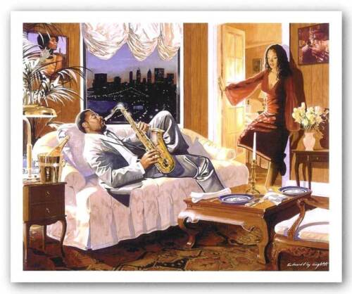 AFRICAN AMERICAN ART Seduction by Edward Clay Wright
