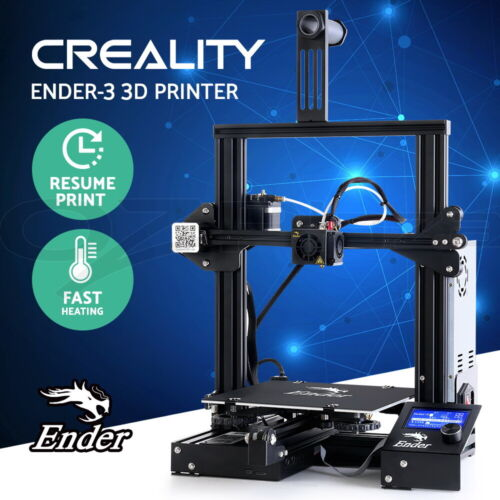 Creality Ender 3 3D Printer Official Resume Printing High Precision 220*220*250 <br/> Official Authorized. Presale, dispatch on Aug 23rd.