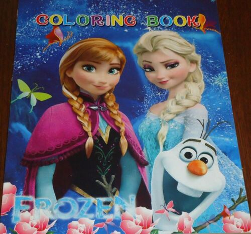 FROZEN 16 PAGE COLORING BOOK WITH STICKERS (BRAND NEW)