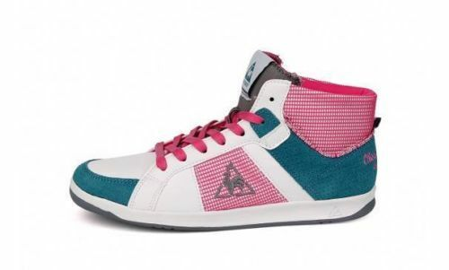 Le Coq Sportif Toulouse Mid Women's Leather & Suede Fashion Trainers Sneakers