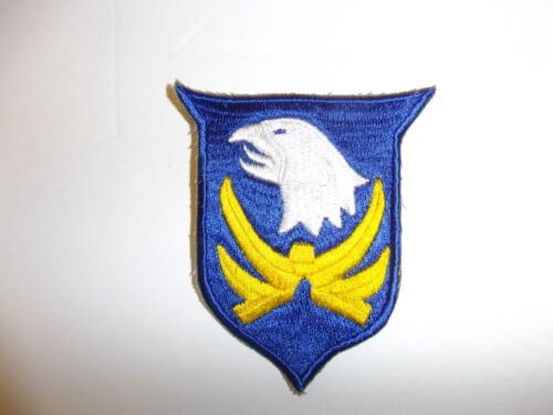 b5031 US Army 1930's-WW2 101st Infantry Division patch blue eye PA14Reproductions - 156372