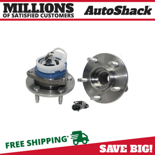 New Front Wheel Hub Bearing Assembly Pair Fits 2000-2013 Chevrolet Impala 5 Stud <br/> FAST SHIPPING – Most Items Ship Same Day - LOWEST PRICE