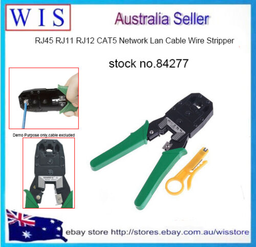 J45 RJ11 RJ12 Cat 5/5e LAN Cable Crimping Pliers Hand Tool for 4P 6P 8P-84277
