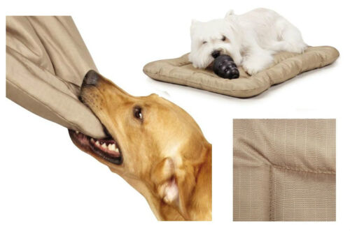 Heavy Duty Chew Resistant Crate Mats for Dogs Reinforced Megaruffs Dog Beds