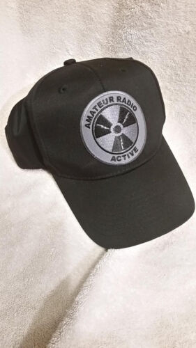 Amateur Radio Active Hat With Subdued Patch