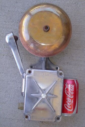 Authentic Life Boat Alarm Bell - BIG SHIP SALVAGE, Pauline South Carolina