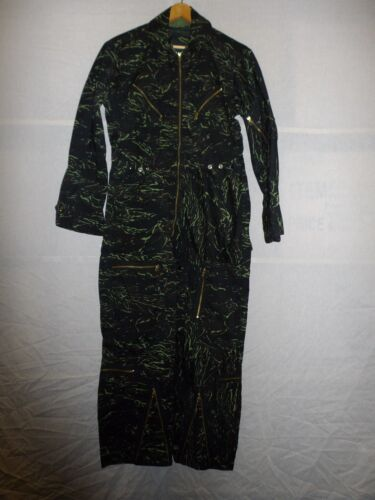b4724  Vietnam era Thai Tiger Stripe Camo USAF Flight Suit W8FReproductions - 156445