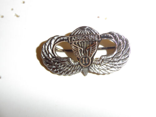 b0340 post WW 2 Occupation 11th Airborne Division Jump Wing Japan Sendia B1D25Reproductions - 156472