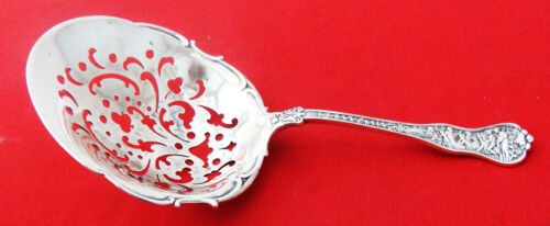 EARLY Tiffany OLYMPIAN Sterling Silver PIERCED SARATOGA CHIP or CRACKER SCOOP