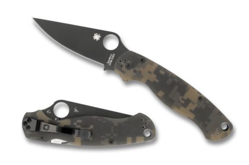 Spyderco modern fixed blade antiques us for Spyderco fish hunter