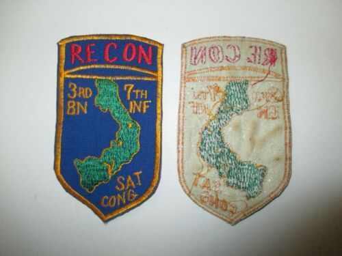b6848 US Army Vietnam Recon 3rd  Battalion 7th Infantry Regiment IR40AReproductions - 156445