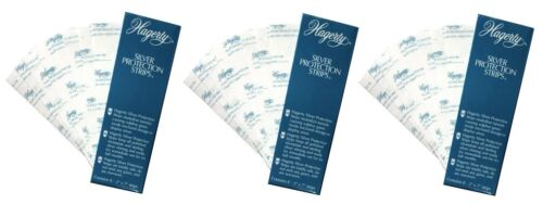 3-pack Hagerty Silver Protection Strips (24 Strips Total) STOP TARNISH