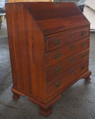 Monitor Furniture Solid Wild Cherry Secretary Desk Early American Style Colonial