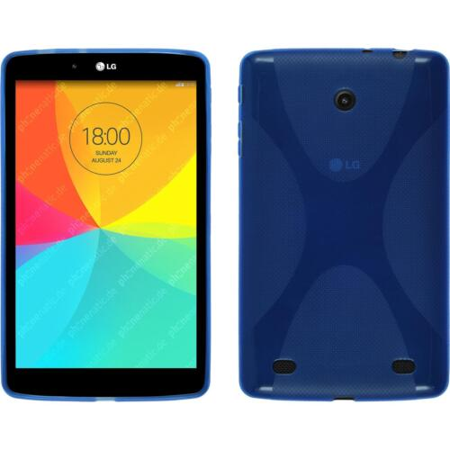 Silicone Case for LG G Pad 8.0 X-Style blue Cover