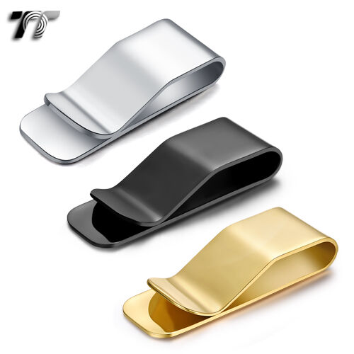 Quality Solid TT 316L Stainless Steel Money Clip (MC12) NEW Arrival
