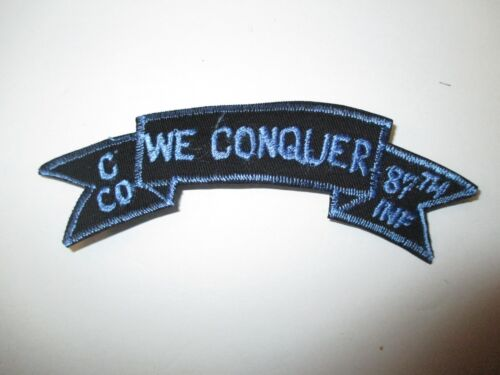 b7504 US Army Vietnam tab C Co We Conquer 87th Inf Infantry Company IR37BReproductions - 156445