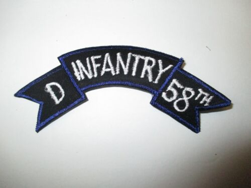 b7505 US Army Vietnam tab D Infantry 58th IR37BReproductions - 156445