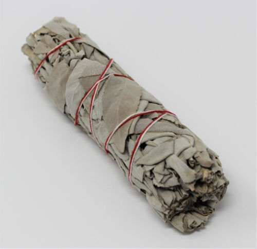 "1 White Sage Smudge Stick 4"" - 5"" House Cleansing Remove Negativity WHOLESALE"