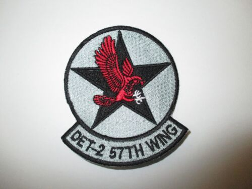b8512 US Air Force Groom Black Ops Det 2 57th Wing Detachment Fighter IR24DReproductions - 156447