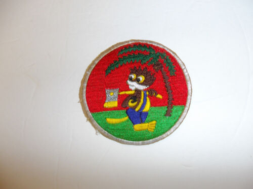 b8629 US Army Korea 127th Airborne Engineers Battalion Parachute patch R8D
