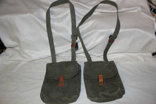 1 Yugoslavian Military 7.62x39 4 Cell Magazine Pouch for 30 Round Mag N O PAP  Pouches - 70991