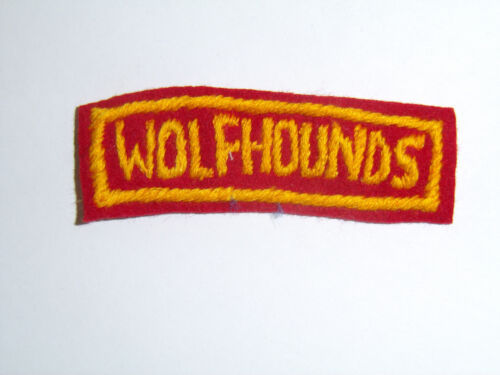 b8762 Korean War US Army Tab Wolfhounds 27th Div Infantry Division Korea R8DReproductions - 156441