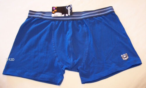 Top Gear Shield Mens Blue Printed Trunk Brief Size M New