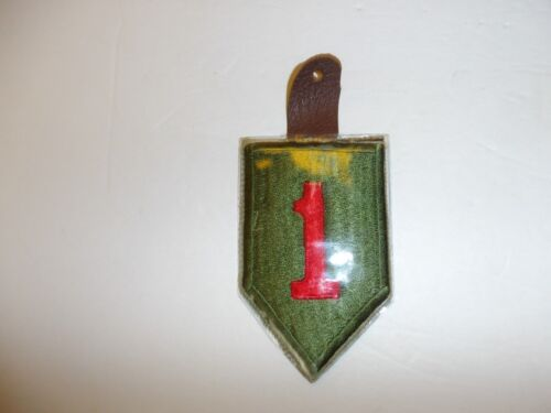 ph62 Vietnam US Army 1st Infantry Division Pocket Hanger IR7AReproductions - 156445