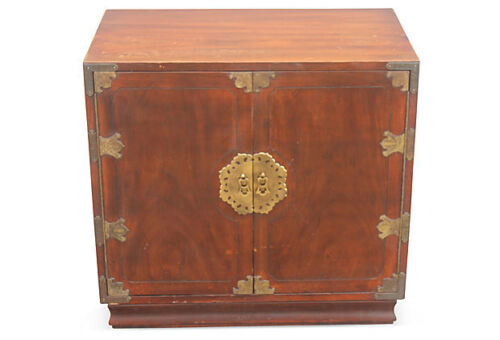 1970's ASIAN CAMPAIGN style CHEST BY HENREDON - BEAUTIFUL