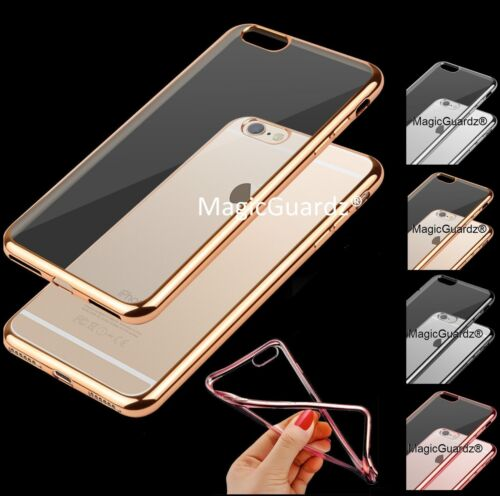 Hybrid Clear Back Shockproof TPU Case Cover for Apple iPhone 5 / 6  / 7 / 8 Plus