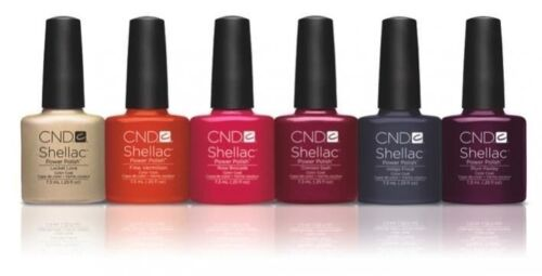 CND SHELLAC UV Gel Polish MODERN FOLKLORE Collection! GORGEOUS!!