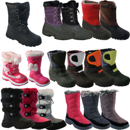 **  MENS LADIES KIDS SNOW BOOTS WATERPROOF THERMAL WELLINGTONS FUR WINTER WOMENS <br/> BIGGEST CLEARANCE SALE OFFERS FOR ONE DAY ONLY!!!!!!!!!