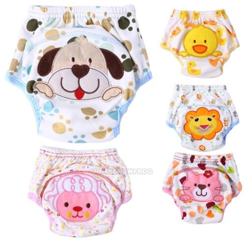 Lovely Infant Toddler Kids Baby Cloth Diaper Cover Toilet Training Pants Nappy