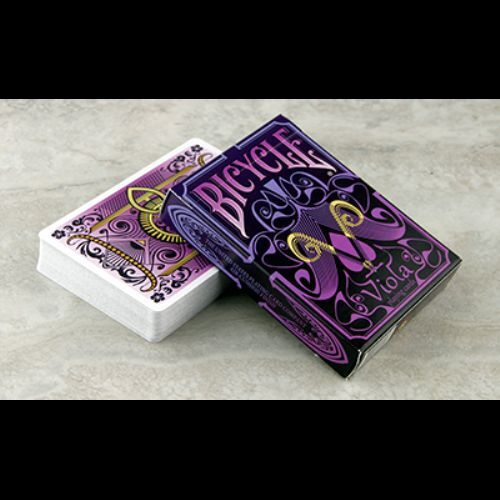 Viola Deck Bicycle Playing Cards Poker Size USPCC Limited Edition New Sealed