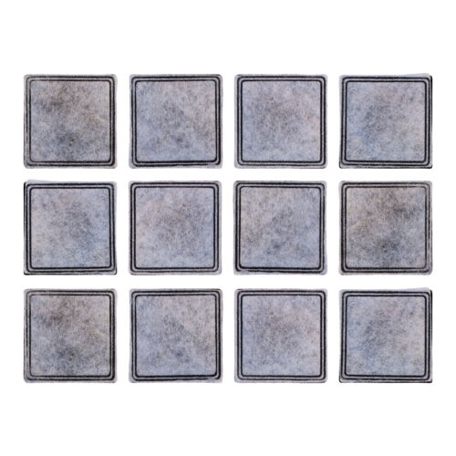 Filters for Aqua Fountain Aqua Cube, Aqua Falls & PetSafe Current, Pack of 12